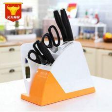 厨房用品多功能刀具架收纳置物架菜刀架塑料刀座