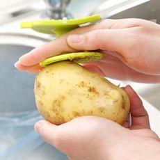 多功能土豆去皮器 鱼鳞刨果蔬清洁刷 刮鱼鳞器 厨房用品
