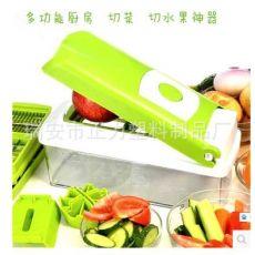 多功能不锈钢切菜器套装组合 厨房懒人用品 切丝切片器