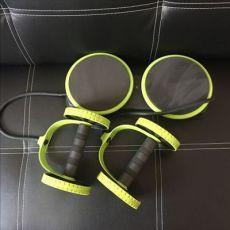 多功能健腹轮腹肌轮家用健身器材拉力器扭腰盘收卷腹器