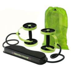 多功能拉力器 健腹轮腹肌轮收腹轮 拉力绳健腹器练肌肉