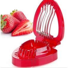 草莓切片器 切果器 做水果拼盘的好帮手