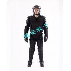 防暴服 保安防暴盔甲黑色阻燃硬质防暴防护装备
