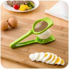 加厚鸡蛋香菇切片器手持切蛋器 蔬菜花式皮蛋松花蛋分瓣器