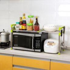 置物架不锈钢 不锈钢微波炉架 微波炉置物架 厨房微波炉置物架