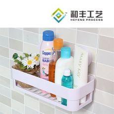 多色强力双吸盘置物架 浴室卫生间收纳架 厨房杂物架