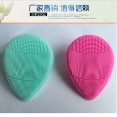 毛孔清洁家用硅胶洗脸刷 手动按摩硅胶洁面仪婴儿洗头刷