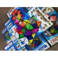 圣手异形魔方三阶学生成人初学玩具镜面三角斜转金字塔SQ1五魔方