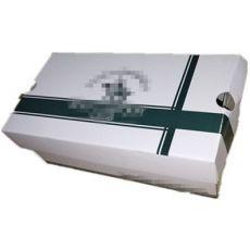 彩印三层瓦楞鞋盒飞机盒开窗包装盒鞋盒天地盖开天窗盒透明鞋盒
