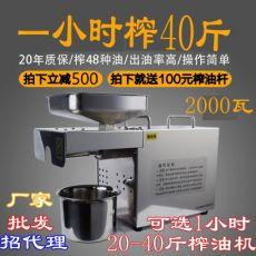 全自动家用商用榨油机 多功能不锈钢 榨油机 螺旋榨油机
