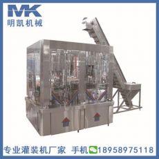 白酒黄酒高精度灌装机 玻璃瓶白酒灌装压盖机 全自动白酒灌装机