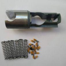 五金加工生产中叉不锈钢压簧 锁芯小弹簧