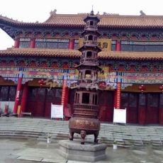 铸铁长方形平口香炉 铸铜寺庙八龙柱香炉