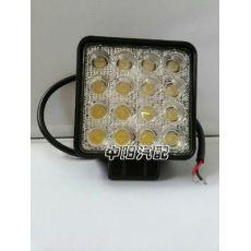 48W LED黄光工作检修灯 探照工程机械灯 挖机车灯
