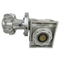 活塞式气动马达配蜗轮减速机
