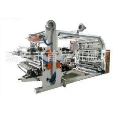 中速卷筒柔版印刷机 桥式4色环保水墨印刷机