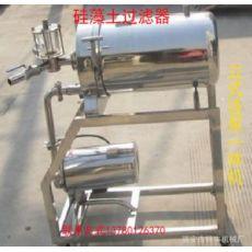 220硅藻土过滤器连泵一体机净化设备黄酒果酒葡萄酒白酒250过滤机