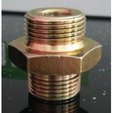 六角接头螺栓 双头连接螺栓管接头两头牙螺丝汽车配件