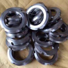 GB/812国标圆螺母/开槽锁紧螺母/止退螺母四槽螺母M10-M200