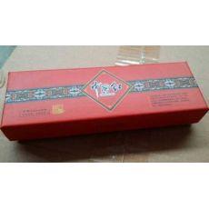 红瓷上下盖包装盒 中国红书签包装