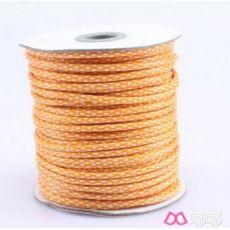 韩国环保双色包芯腊绳 手工编织饰品 圆蜡绳 2.0mm 3.5mm