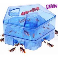 蟑螂诱捕器捕捉器蟑螂屋小强盒子诱饵贴粉灭蟑螂药蟑螂捕捉器
