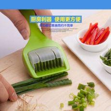 多功能创意多轮香料切碎器实用滚轮切菜葱器创意小工具切条批萨刀