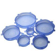 硅胶保鲜盖 食品保鲜膜 微波炉盖硅胶保鲜盖6件套 蔬菜保鲜膜