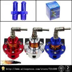 汽车改装 S型可调燃油调压阀/燃油增压器/带压力表