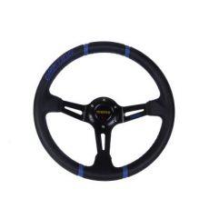 汽车改装通用方向盘个性MOMO14寸赛车方向盘 改装赛车竞技方向盘