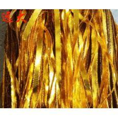 金银丝8股空心绳织带 金扁绳 包装金葱带