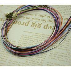 齐发娱乐_2.0mm韩国蜡绳 环保亮绳 项链绳 鞋带 绳子