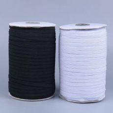 袖套松紧带 黑白 扁窄宽 走马带 跑马松紧带 服装辅料 彩色 织带