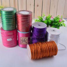 丙纶双面织带 彩色织带