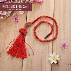 礼品手提三股绳 涤纶手提袋绳酒盒绳 彩色纸袋手提绳