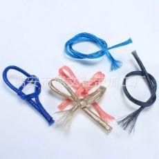 户外彩色鞋带1米长 运动织带 纶金扁带织带