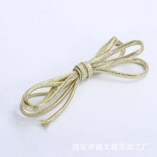 金色扁带鞋带