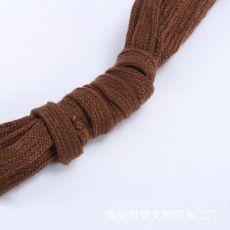 扁棉纱鞋带 扁头鞋带 扁棉纱织带
