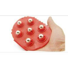 全能型迷你便携式七钢珠按摩刷 按摩器材 按摩刷