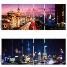 漆器七彩小屏风 027 小号-上海夜之 中国特色工艺礼品