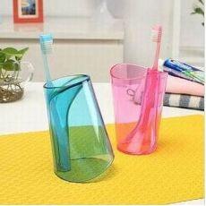 创意时尚二合一多功能防垢洗漱杯 刷牙杯 漱口杯 儿童杯