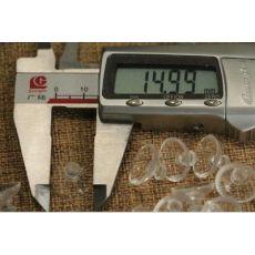 1-4代手机摇杆1.5CM卡头吸盘 PVC透明吸盘 手机摇杆 玻璃吸盘15mm