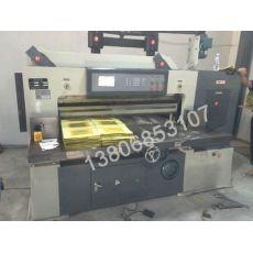Qz1300A程控切纸机加高型切纸机