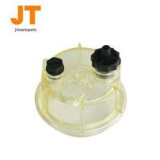 柴油滤清器油杯 双孔透明滤清器塑料积水杯