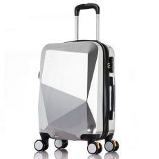 钻石切割面拉杆箱万向轮20寸镜面旅行箱行李箱包密码箱24寸