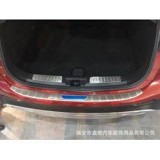 英菲尼迪2017款QX30 改装专用 后护板 内置尾箱护板 不锈钢材质