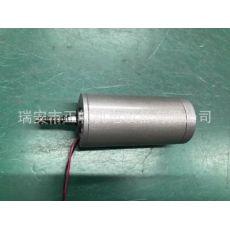 直流电动推杆电机45蝸轮蝸杆减速电动开窗马达24V