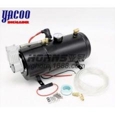 AS173 喇叭改装气泵12V 150psi 3L气罐改装气泵空气压缩机