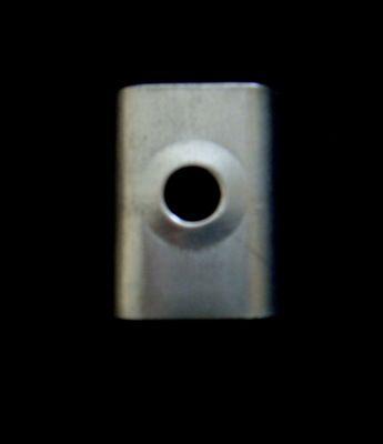 加强片 固定片 使用与铝合金门框