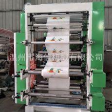 塑料环保印刷机 纸张无纺布多种卷筒材料六色柔版印刷机
